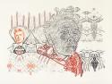 Erna Hoerler, geb. Fabian Farbstift auf Papier 215 x 298 cm 2008