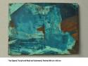 Acryl und Rost auf Leinwand, Format 1,70 x 1,50m